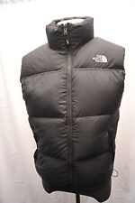 NORTH FACE MENS MEDIUM 700 GOOSE DOWN HIKING GILET WAISTCOAT BLACK FV38