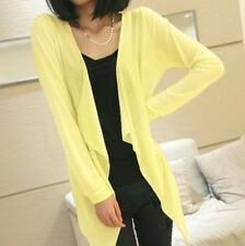 Women Beach Sun Summer Protection Clothing Air-conditioned Shirt Light Yellow