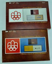 Canada. Olympic Stamp Souvenir Collection. Two Volumes (Two boxes). (BI#BR)