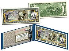 BANKSY * ANTI-WAR * Colorized $2 Bill Legal Tender Banknote Street Art Graffiti