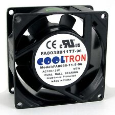 110V / 115V / 120V AC Cooling Fan. 80mm x 38mm HIGH SPEED (HS8038A)