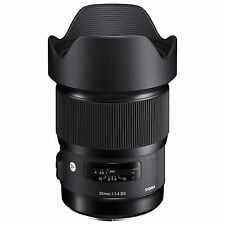 Sigma 20mm F1.4 DG HSM Art lentille pour Nikon af (uk stock) bnib