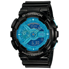 Casio G-SHOCK Hyper Colors World Time Watch GA-110B-1A2 Brand NEW