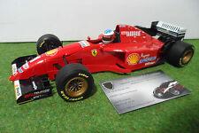 F1 FERRARI 412 T2 #1 Michael SCHUMACHER de 1996 au 1/18 MINICHAMPS formule 1