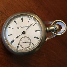 1888 Elgin 18 size H.H. Taylor 15j True Train Railroad ADJ Pocket Watch Case