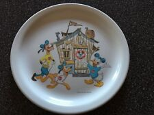 "GC Vintage Disney Mickey Mouse Club Melmac 9"" Plate"