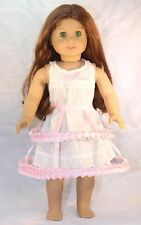 "Crinoline and Chemise made for 18"" American Girl Doll Clothes"