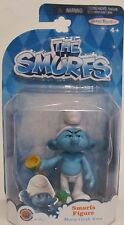 "New! The Smurfs Figure Movie Grab 'Ems Official Movie Merchandise Toy ""Grouchy"""