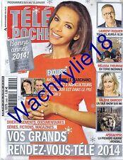Télé Poche n°2499 du 04/01/2014 Karine Le Marchand L'amour est dans le pré