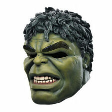 Latex Avengers Hulk Head Over-The-Head Rubber Mask Adult Cosplay Costume