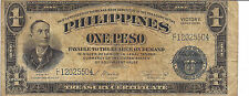 PHILIPPINES, 1 PESO,VICTORY ISSUE, ND