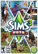 The Sims 3: Pets Expansion Pack (Computer PC-DVD, Simulation Video Game) NEW