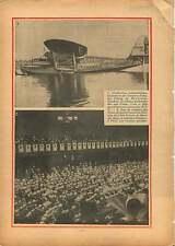 Seeplane Hydravion Latecoere Étang de Biscarrosse de Parentis 1934 ILLUSTRATION