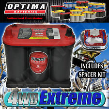 OPTIMA RED TOP BATTERY 12 VOLT NEW AGM 25 720CCA HOLDEN COMMODORE VS VR VP VN VL