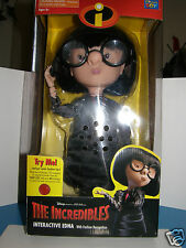 "Disney  "" Incredibles ""   Edna   interactive & talking  Doll"