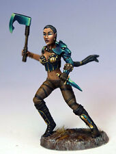 Elmore Masterworks FEMALE DUAL WIELD WARRIOR Dark Sword Miniatures DSM1165