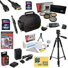 Excellent Prix Accessory Bundle for the Nikon D3100 D3200 D5100 D5200 D5300