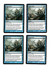 4x Think Twice VG/EX Time Spiral Magic Commander EDH 4x x4