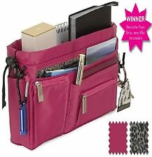 RRP £24.95 Handbag2Handbag luxury handbag organizer hot pink with leopard lining
