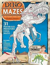 Dino Mazes: The Colossal Fossil Book