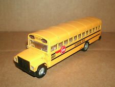 1/72 Scale School Bus Diecast Model - Type C Bus Replica 6 Inch Truck Bus Toy