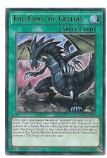 The Fang of Critias DRL3-EN060 Ultra Rare Yu-Gi-Oh Card 1st Edition English Mint