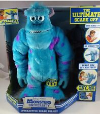 New Disney Pixar Monsters University Sulley Ultimate Interactive Scare Off