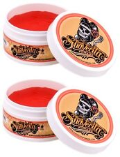 2x SuaVecita Water Soluble Pomade - Firme / Strong Hold Suavecito 4 Oz Each