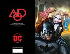 JUSTICE LEAGUE VS SUICIDE SQUAD #1 AOD COLLECTABLES WITTER VIRGIN LIMITED COVER