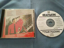 KRAFTWERK THE MAN MACHINE CD CAPITOL EMI 1978 HOLLAND EDITION