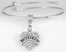 Bridesmaid Bracelet Bridesmaid bracelets Bridal jewelry Wedding gifts best love