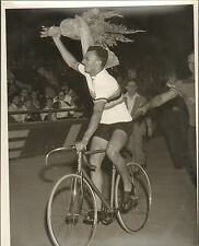 PARIS CHAMPIONNAT DU MONDE CYCLISTE BICYCLE RACE PHOTO PRESSE VAN HEUDSEN 1952