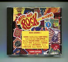 I Miti del Rock n.1 # ROCK LEGENDS I #Doors-Deep Purple..# Fabbri 1993 # CD Rock