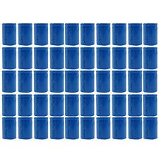50 pc 4/5 Sub C 1600mAh 1.2V Ni-Cd Rechargeable Battery Cell Flat Top Blue