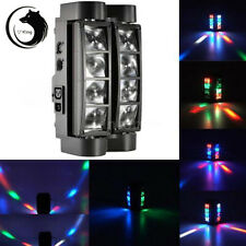 85W 8LED RGBW LED DMX DJ Spider Moving Head Stage Lighting Party Effect Lights