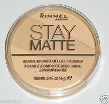 *BRAND NEW* Rimmel London Stay Matte Long Lasting Pressed Powder-001 Transparent