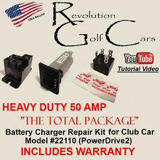 HD Battery Charger Repair / Rebuild Kit / PowerDrive2 / WARRANTY for Club Car