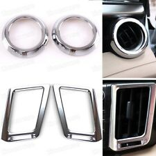 Chrome  Car Internal Air Condition Vent Cover Trim for Toyota Rav4 2013-2014
