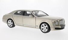 1:18 RASTAR  -  Bentley Mulsanne LHD perlsilber