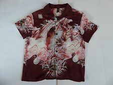 VINTAGE - JEAN PAUL GAULTIER - SOLEIL SHIRT - CARP - XXL  - MADE IN ITALY