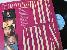 "Various Artists ‎– Let's Hear It From The Girls (1980s POP, ROCK) 12"" 33RPMLP"