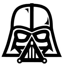 Darth Vader Star Wars The Force Awakens Vinyl Decal Sticker Car Bumper Window