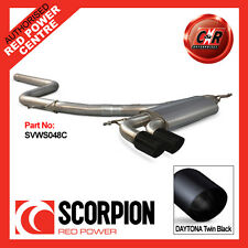 VW Mk6 Golf GT 2.0TDI 09-13 Scorpion Cat-Back (Non Res) 2x83mm Daytona SVWS048C
