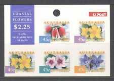 Australia 1999 costiere fiori/piante 5v S/A Sht n20921