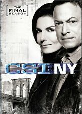 CSI NY ~ Compete 9th Ninth & FINAL Season 9 Nine~ BRAND NEW 5-DISC DVD SET