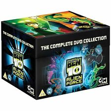 Ben 10  Alien Force - The Complete Cartoon Network Collection 9 Disc Box Set New