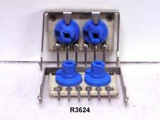 CENTRALAB DUAL PCB MOUNT TRIMPOTS 1K & 10K OHM  PACKAGE OF 10 (R3624)