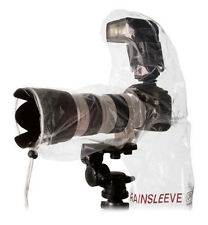 """OP/TECH USA Lens and Flash Rainsleeve Raincover Fits up to 14"""" Length 2 Pack"""