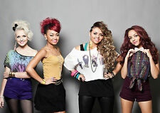 Little mix poster  A4. on H/Q 260gsm photo paper