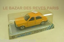 NOREV FRANCE. JET CAR.  TALBOT HORIZON  (orange) + Boite.